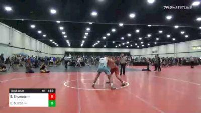 195 lbs Prelims - Seth Shumate, OH vs Ethan Sutton, TN