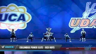 Columbus Power Elite - Red Hots [2020 L2 Senior Day 1] 2020 UCA Smoky Mountain Championship