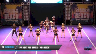 PA Heat All Stars - Xplosion [2021 L2 Senior - D2 Day 1] 2021 ACDA: Reach The Beach Nationals