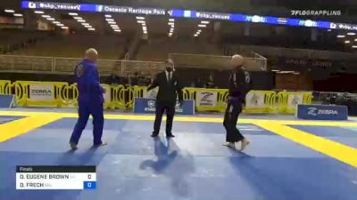 DAVID FRECH vs DAVID EUGENE BROWN 2020 World Master IBJJF Jiu-Jitsu Championship