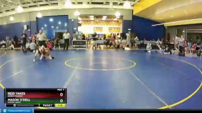 90 lbs Round 3 - Mason O`Dell, Mater Lakes vs Reid Yakes, Bebee Trained