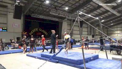 Adeline Kenlin - Bars, Iowa Gym-Nest - 2019 Buckeye Classic