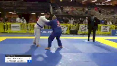 JAMES LEE LAGASCA vs MICHAEL FRANCIS MARION 2021 Pan Jiu-Jitsu IBJJF Championship