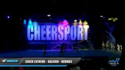 Cheer Extreme - Raleigh - Berries [2021 L4 Senior Coed - Medium Day 2] 2021 CHEERSPORT National Cheerleading Championship