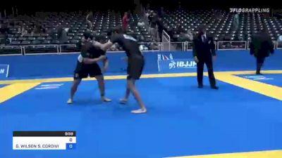 NICHOLAS JAMES RONAN vs GUILHERME WILSON S. CORDIVIOLA 2021 World IBJJF Jiu-Jitsu No-Gi Championship