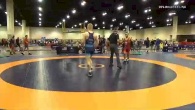 67 kg Semifinal - Peyton Omania, Unattached vs Nolan Baker, New York Athletic Club