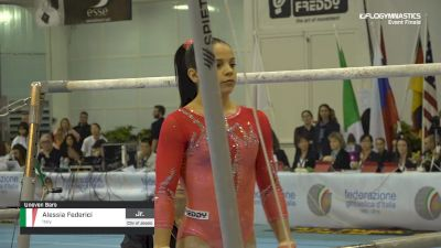 Alessia Federici - Bars, Italy - 2019 City of Jesolo Trophy