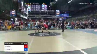 120 lbs Consi Of 8 #2 - Paul Kelly, California vs Cooper Flynn, Tennessee