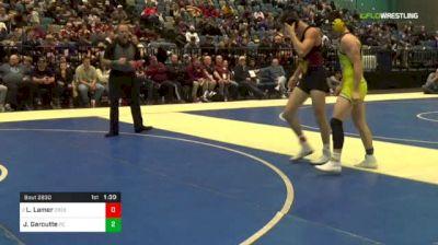 145 lbs Final - Legend Lamer, Cresent Valley vs Jaxon Garoutte, Pueblo County