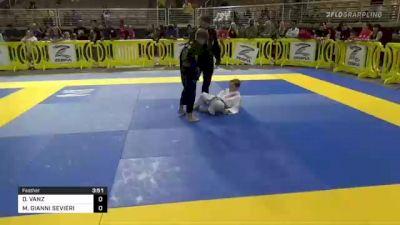 DAWSON VANZ vs MICAH GIANNI SEVIERI 2021 Pan Kids Jiu-Jitsu IBJJF Championship