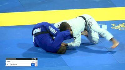 ISAQUE BAHIENSE vs TOMMY LANGAKER 2018 World IBJJF Jiu-Jitsu Championship