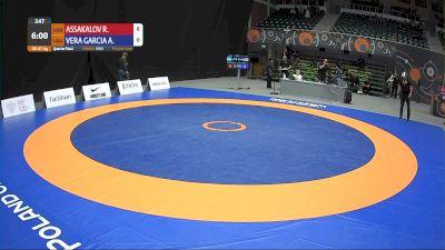 87kg Quarter-Final - Alan Vera, USA vs Rustam Assakalov, UZB