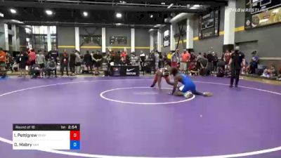 92 kg Prelims - Isiah Pettigrew, Team Poeta vs Denzel Mabry, San Francisco Wrestling Club