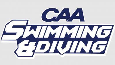 Full Replay: CAA Men's and Women's Swimming - Mar 30