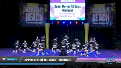Upper Merion All Stars - Midnight [2021 L6 Senior Coed Open Day 2] 2021 ACDA: Reach The Beach Nationals