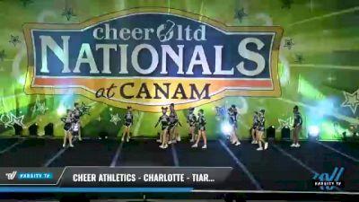 Cheer Athletics - Charlotte - TiaraCats [2021 L1 Mini - Small Day 2] 2021 Cheer Ltd Nationals at CANAM