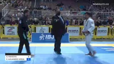 BRIAN MAHECHA vs EMILIO ALEJANDRO HERNANDEZ RODRI 2021 Pan Jiu-Jitsu IBJJF Championship
