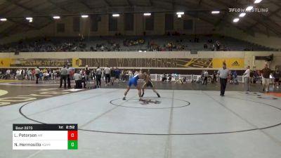 Match - Lenny Petersen, Air Force vs Noah Hermosillo, Adams State