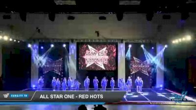 All Star One - Red Hots [2021 L2 - U17 Day 1] 2021 JAMfest Cheer Super Nationals