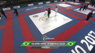 Dimitrius Souza vs Guilherme Santos Abu Dhabi Grand Slam Rio de Janeiro