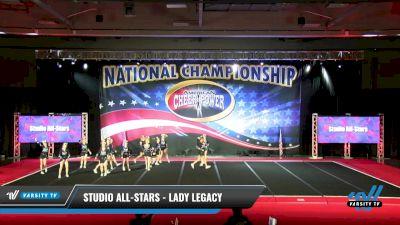 Studio All-Stars - Lady Legacy [2021 L3 Senior Day 2] 2021 ACP: Midwest World Bid National Championship