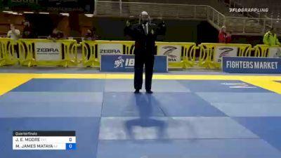 JEREMY E. MOORE vs MARCUS JAMES MATAYA 2020 World Master IBJJF Jiu-Jitsu Championship