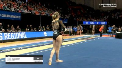 Mary Jacobsen - Floor, Oregon State - 2019 NCAA Gymnastics Regional Championships - Oregon State