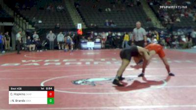 184 lbs Prelims - Caleb Hopkins, Campbell vs Nelson Brands, Iowa