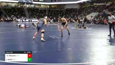 184 lbs Prelims - David Stevens, Messiah University vs Josh Bush, Augustana University