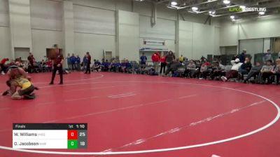 150 lbs Final - Wentric Williams, Missouri United (M) vs Owen Jacobson, IKWF Gold (M)