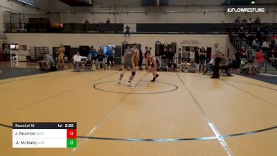 174 lbs Round Of 16 - Jacob Reames, Gardner-Webb vs Andrew McNally, Kent State