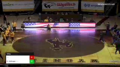 141 lbs Lenny Petersen, Air Force vs Chase Zollman, Wyoming