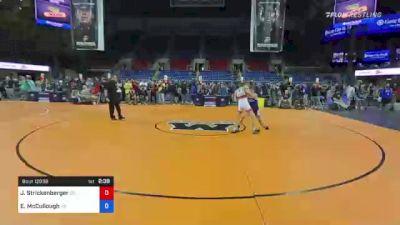 120 lbs Round Of 32 - Jett Strickenberger, Colorado vs Ethan McCullough, Georgia