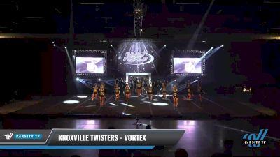Knoxville Twisters - Vortex [2021 L4 Senior Day 1] 2021 The U.S. Finals: Sevierville