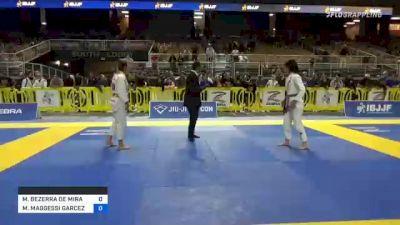 MÔNICA BEZERRA DE MIRANDA vs MONIQUE MAGGESSI GARCEZ 2021 Pan Jiu-Jitsu IBJJF Championship