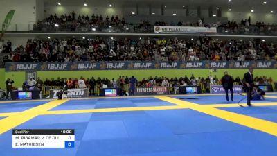 MANUEL RIBAMAR vs ESPEN MATHIESEN 2020 European Jiu-Jitsu IBJJF Championship