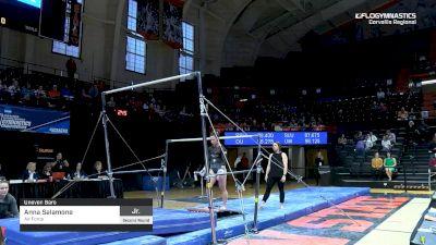 Anna Salamone - Bars, Air Force - 2019 NCAA Gymnastics Regional Championships - Oregon State