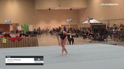 Lauren Thomas - Floor, Premier-CO - 2019 Alamo Classic