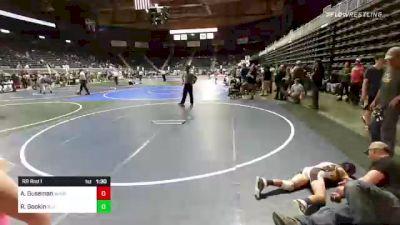 123 lbs Rr Rnd 1 - Blake Horner, Ruis Wr Ac vs Ashton Allen, Triple Threat WC