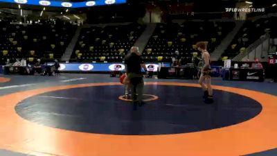 57 kg Consolation - Gabriel Gray, Panhandle Wrestling Club vs Beau Bayless, Unattached