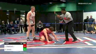 220 lbs Final - Logan Shephard, OH vs Christian Carroll, IN