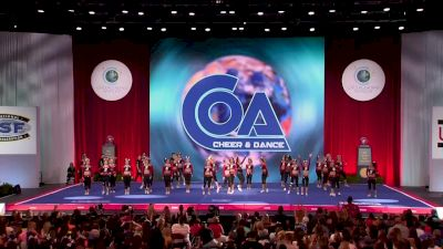 Fire & Ice Allstars - 5 Alarm [2018 Senior Large All Girl Finals] The Cheerleading Worlds