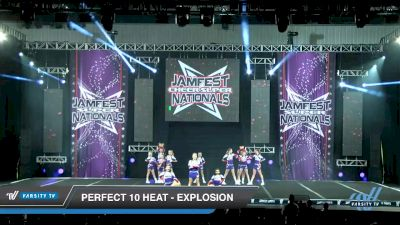 Perfect 10 Heat - Explosion [2020 L2 Junior - D2 - Small - A Day 1] 2020 JAMfest Cheer Super Nationals