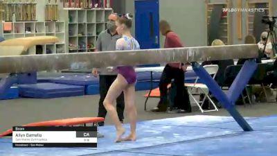 Allyn Damelio - Beam, San Mateo Gymnastics - 2021 American Classic and Hopes Classic