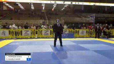 LEONARDO HENRIQUE D'AVILA CORRÊA vs STUART RANDLE MADDOX 2020 Pan Jiu-Jitsu IBJJF Championship