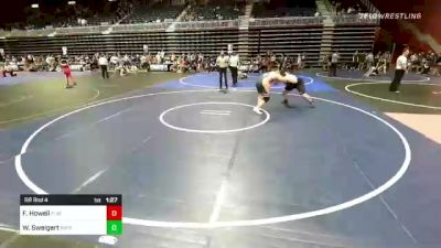 285 lbs Rr Rnd 4 - Forest Howell, Flathead Valley WC vs Weston Sweigert, Patriot Wrestling