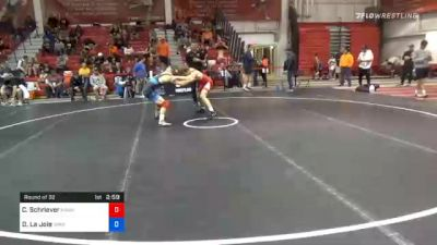 61 kg Prelims - Cullan Schriever, Hawkeye Wrestling Club vs Dominic La Joie, Spartan Combat RTC
