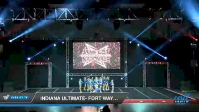 Indiana Ultimate- Fort Wayne - Electric Shock [2021 L5 Junior Coed Day 2] 2021 JAMfest Cheer Super Nationals