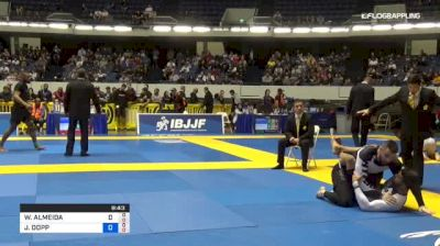 WILSON ALMEIDA vs JARED DOPP 2018 World IBJJF Jiu-Jitsu No-Gi Championship