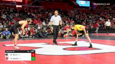 141 lbs Prelims - Max Murin, Iowa vs Hunter Baxter, Maryland